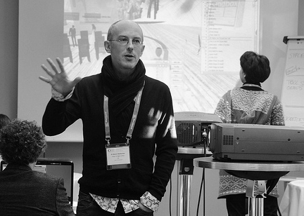 Presenting at Onlline Educa Berlin 2009